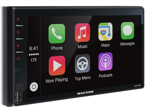 Macrom M dl7000 carplay y Android Auto