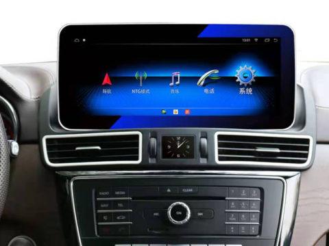 Pantalla Mercedes GLE W166 Mercedes GLS X166 Carplay Android Auto
