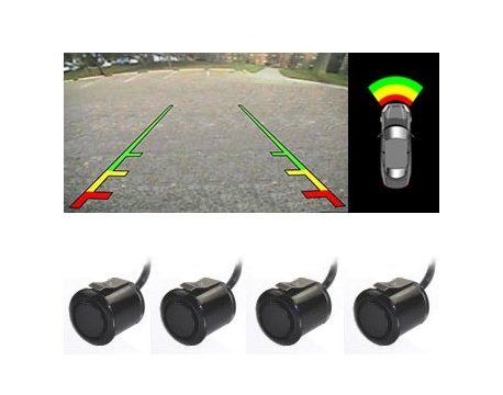 sensores parking camara