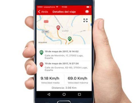 localizador vehículos Shadow tracker